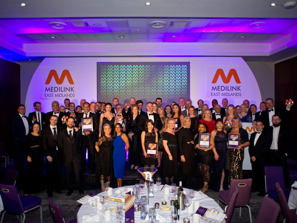 Pure Drug Safety sponsors Outstanding Achievement Award at Medilink East Midlands Business Awards