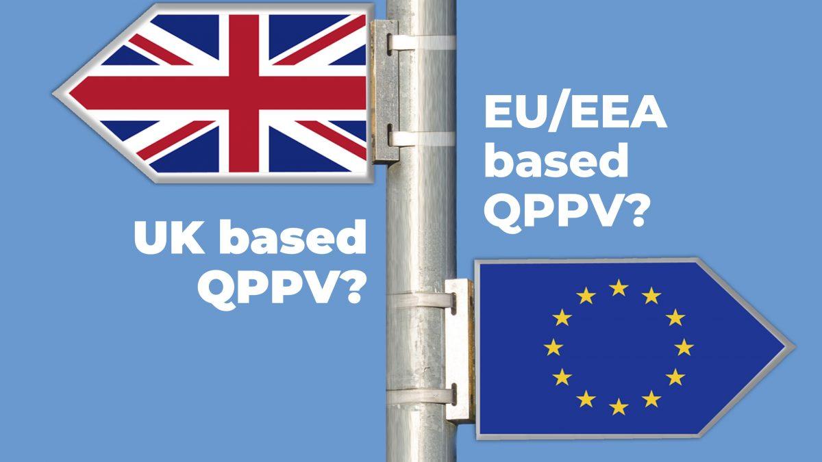 Pharmacovigilance (QPPV) provision post-Brexit