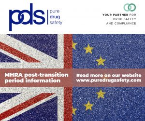 MHRA post-transition period information from Pure Drug Safety