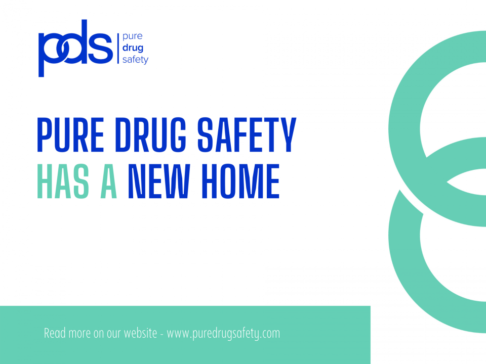 Pure Drug Safety has moved to BioCity